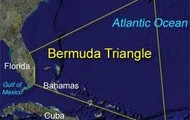 Where is the Bermuda triangle located