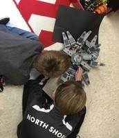 Making a Lego movie.