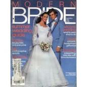 Modern bride magazine.