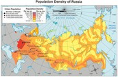 Russian Population Density