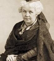 Elizabeth Cady Stanton self portrait