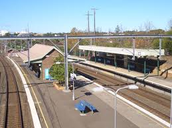 The Croydon train station
