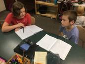 Isabella and Noah Share Ideas