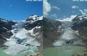 Gletsjer verdwijning
