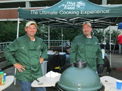The Big Green Egg Cooking Team is coming to town!