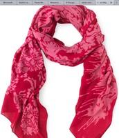 Pink Bryant Park Scarf  retail $59  sale $29