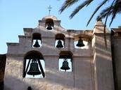 The San Gabriel Arcangel bells.