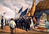 Admiral Perry arrives in Japan(1853)