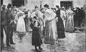 Los motines de 1856.