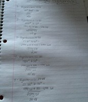 Day 6: Did all of my work on scratch paper