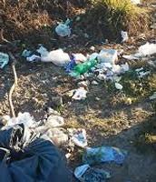 """""""Se desechan los residuos en las afueras de la ciudad"""""""