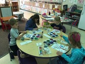 Painting about our wonderful world.