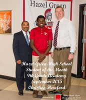 9th Grade Academy Student of the Month
