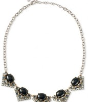 rory necklace, black - $30