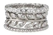 Laurel Silver Stackable Rings Size 7 $10.00