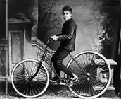 Le tricycle du fils de Dunlop