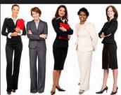 Womens attire