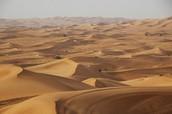 Woestijn klimaat