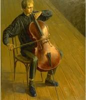 """""""The Cello Player"""""""
