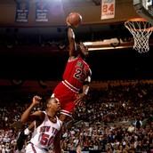 #1 Michael Jordan (AKA Air Jordan)