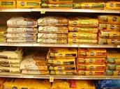 Dog food, guinea pig food, and cat food