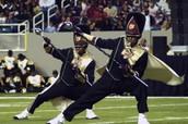 Bethune Drum Majors At Honda 2013