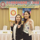 DRR Met Rotaract T.O. Participant in Taiwan