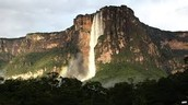 montañas y aqua de venezula