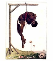 William Blake (1757-1827) A negro hung alive by the ribs to a gallow