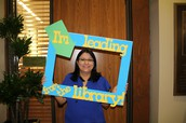 Lisa Ramirez - Windcrest ES Librarian Leads from the Library!