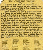 Document of the Mayflower Compact