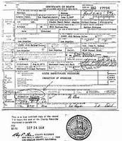 Monroe's Death Certificate