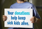 Ways to give to SickKids
