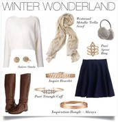 Gold and Rose Gold add Warmth to any Outfit