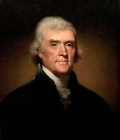 Painting by Rembrandt Peale in 1800