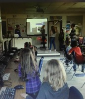 High School shares Coding with the Elementary School
