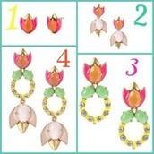 Tropicana Chandelier Earrings $25