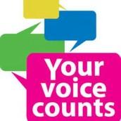 Your Voice Counts! - Parent Survey Data (Fall 2014)