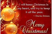 Let's feel Christmas in our heart!