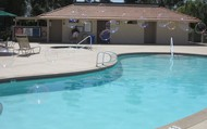One of the smaller pools