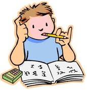 Estudia para la prueba y el examen.