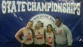 Krayah Langford, Saron Mendoza , and silver medalist Jordan Ramirez earned a trip to the State Meet.