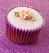 Pastel cupcake example