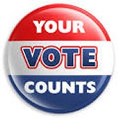 The democracy counts on your vote