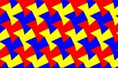 A Tessellation is.......
