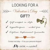 Love this for getting guys to buy V-day gifts!