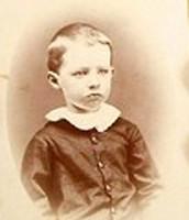 Wyatt as a child