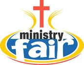 Ministry Fair ~ Sunday, October 18th (UPDATE)