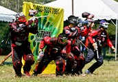 history of paintball