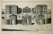 Drawing of the Foundling Hospital
